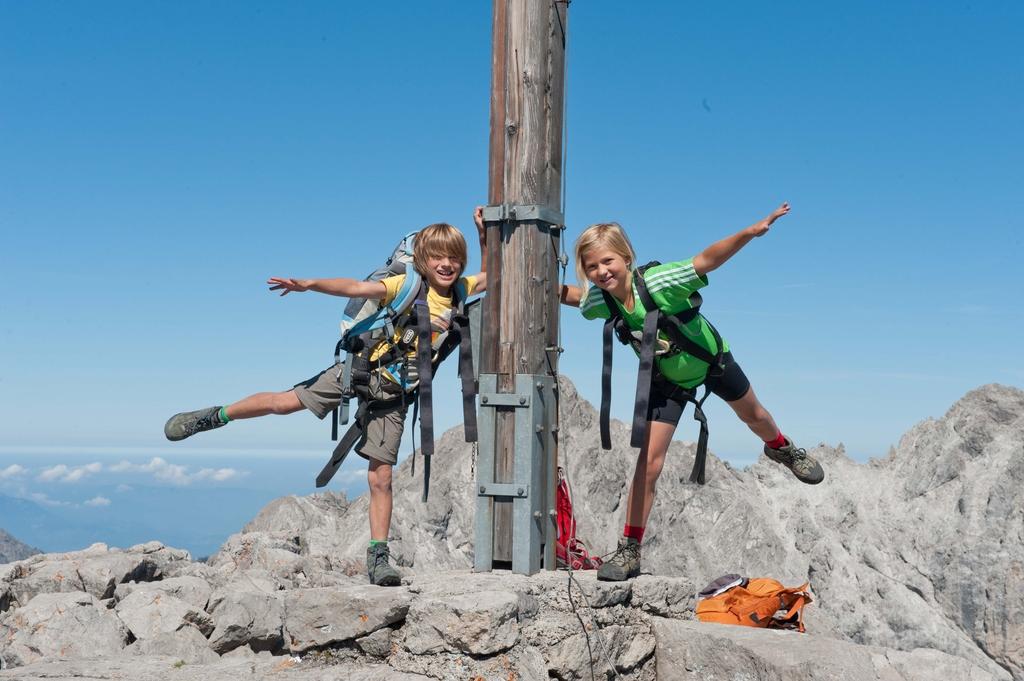 Klettersteig Saulakopf : Klettersteig saulakopf